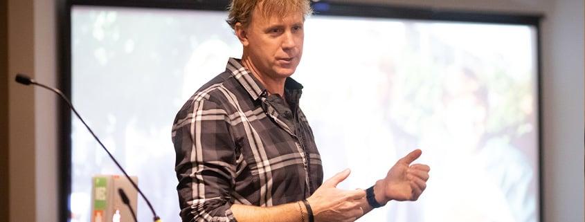 Bruce Kirkby Speaking at Devfacto Summit in Edmonton