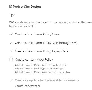 IS Project Design Progress Bar