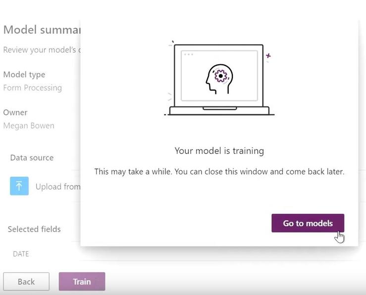 Project Cortex - AI model training