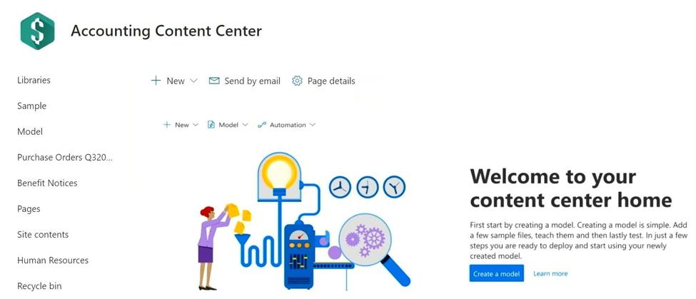 Project Cortex - Content Center