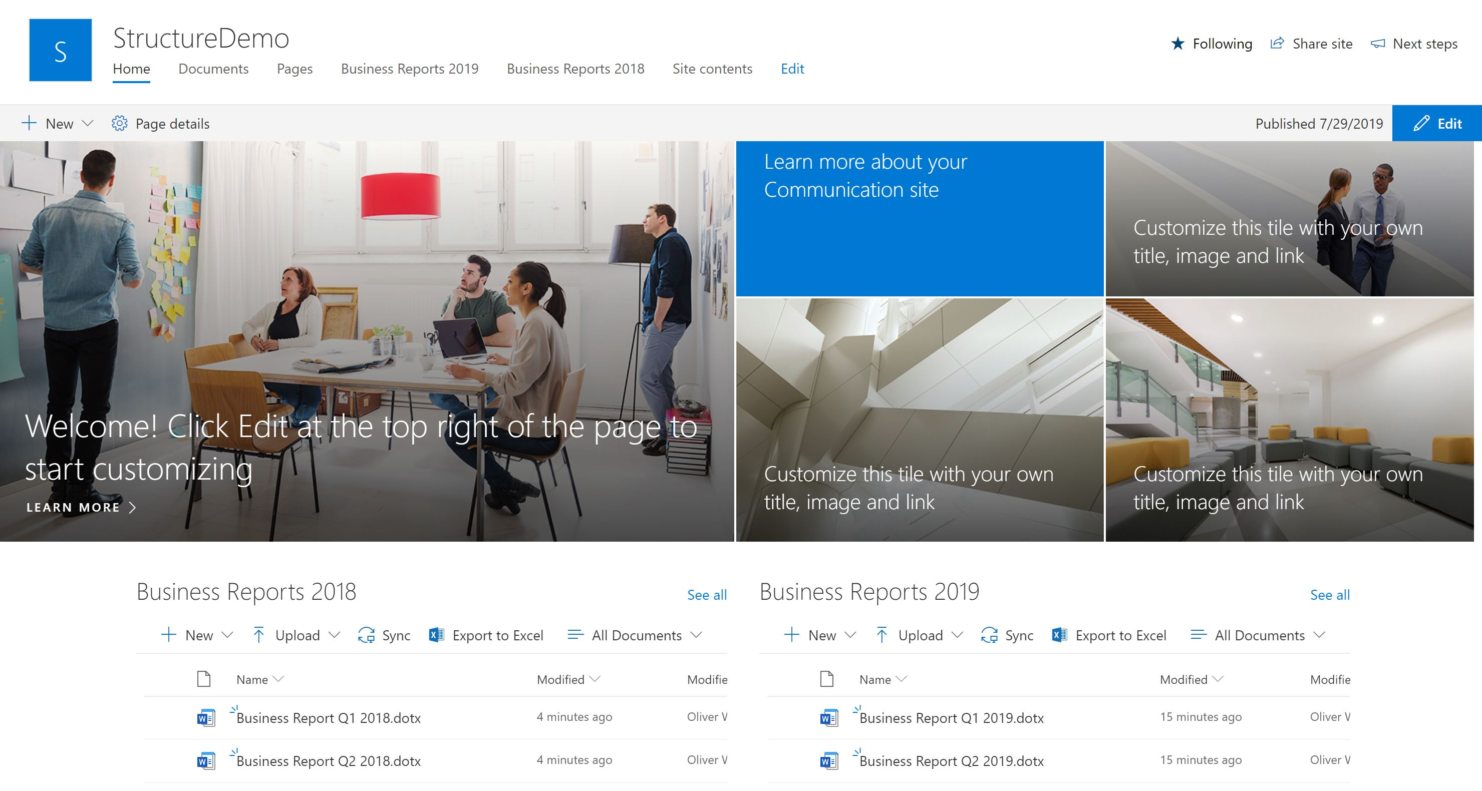 Document Libraries in SharePoint