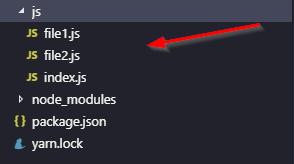 Webpack Demo 2: JavaScript Folder